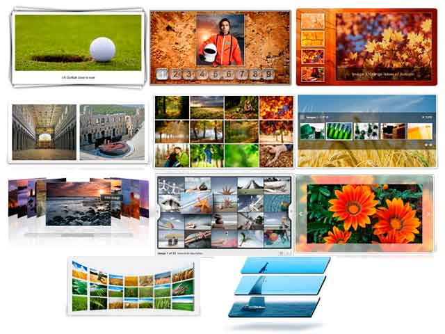 Global Flash Galleries компонент флэш галереи для Joomla 2.5